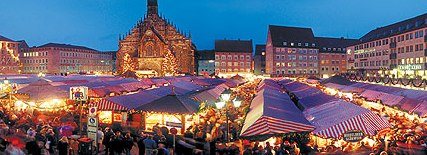 Christmas markets on AMA's December itineraries
