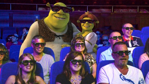 3-D cinemas on Royal Caribbean ships in 2011