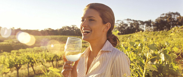 South Australia is famous for its award-winning vineyards