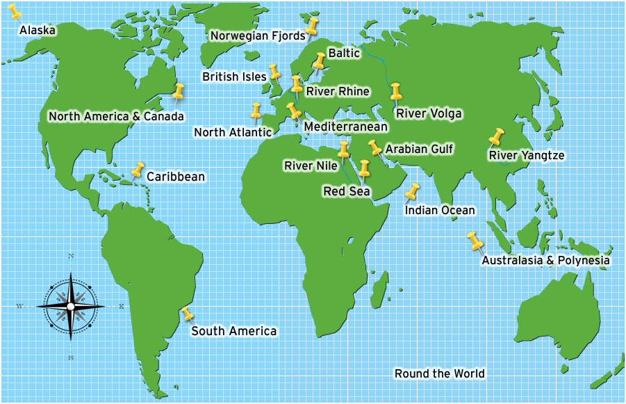 Destinations map cruise international destinations map gumiabroncs