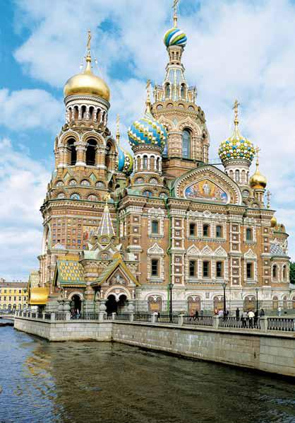 The Church of Our Saviour on Spilled Blood is astonishing inside and out