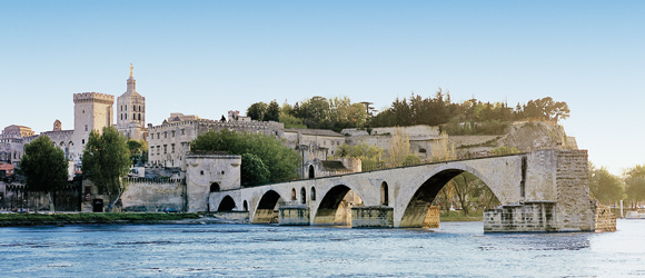 The Rhone River Cruising