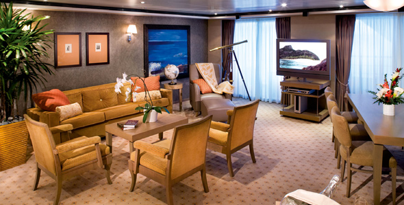 Five of the best staterooms
