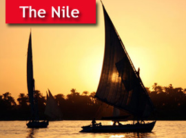 The Nile River Cruising