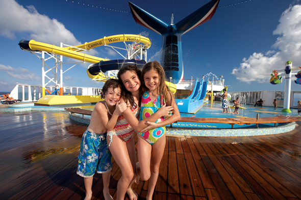 Things to do Carnival Breeze WaterWorks
