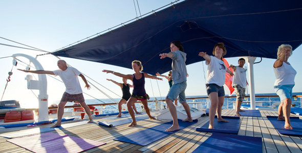 Themed Cruises Yoga