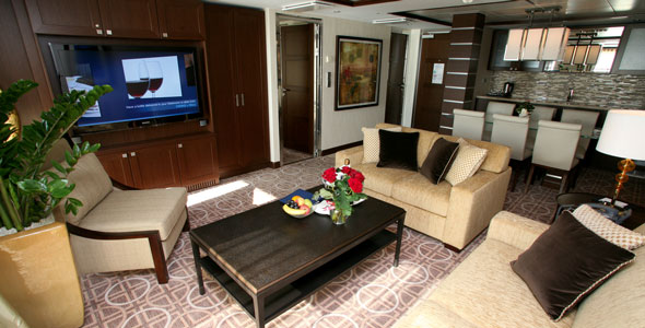 Royal Suite Celebrity Luxury Cruises
