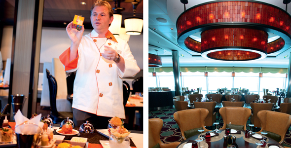 5 of the best restaurants on a cruise ship
