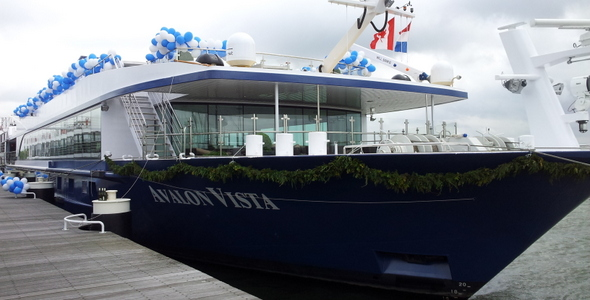 Vista Visionary Launch and Christening in Holland