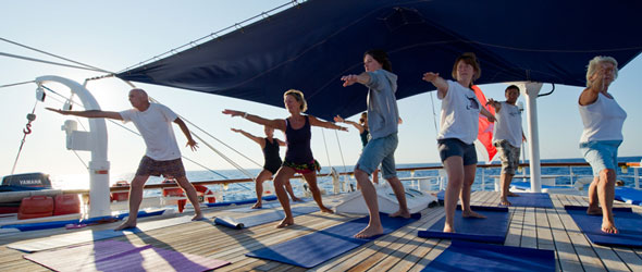 Yoga cruise Guide