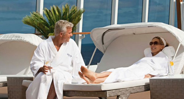 Oceania Riviera Review spa-life