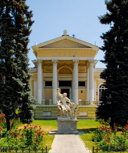 Archaeological museum in Odessa
