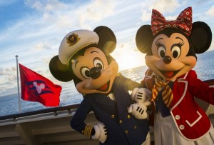 Captain Mickey and First Mate Minnie on the Disney Magic