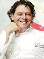 Marco Pierre White has restaurants on P&O cruise ships
