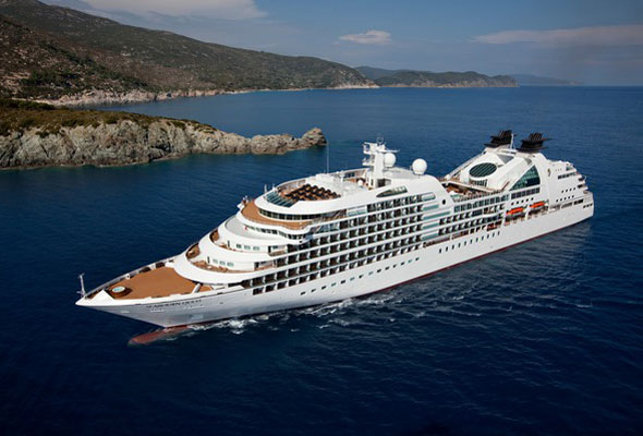 The new ship will have a similar design to Seabourn Quest (above), Odyssey and Sojourn