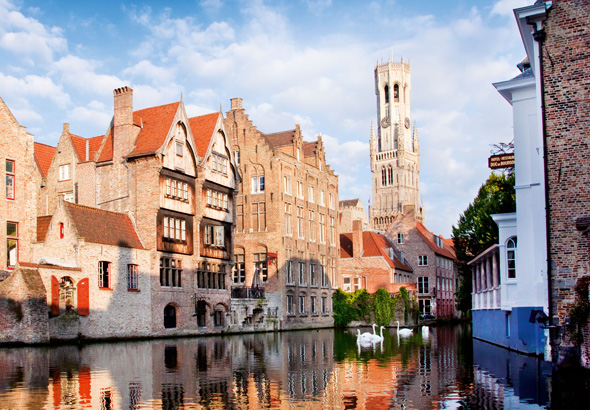 Win a European cruise to Bruges with P&O Cruises