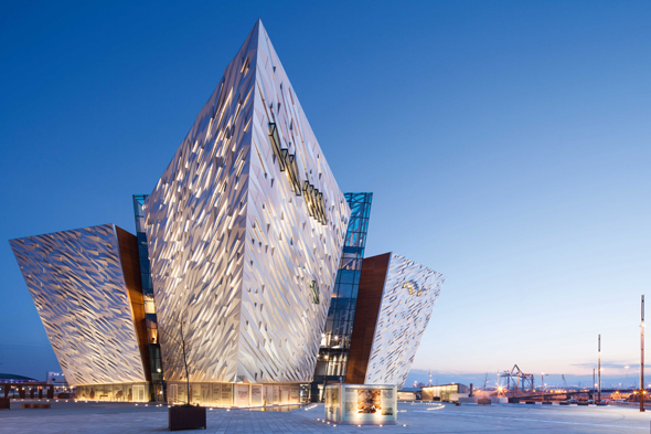 Titanic Belfast - External image of the building