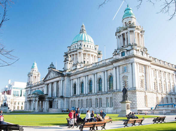 Belfast City Hall can be visited on one of Silversea's no-fly cruises