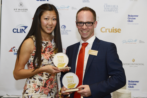 Dan Whitehouse, Marketing Director and Simone Lee, Senior Marketing Executive from Titan Travel