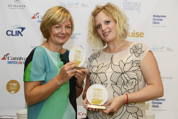Wendy Atkin-Smith, Managing Director and Samantha Crossfield, Head of PR from Viking Cruises