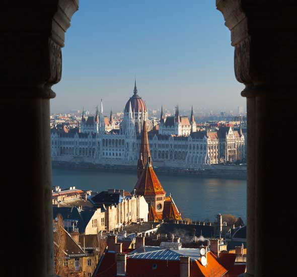 The Danube, seen from Fishermen's Bastion
