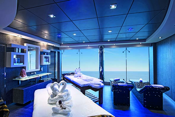 MSC Cruises' Balinese-inspired spas