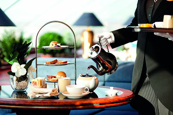 MSC Cruises' delicious afternoon tea
