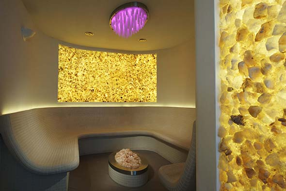 Norwegian Cruise Line's Mandara Spa Salt Room