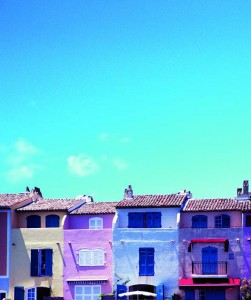Pretty houses in St Tropez. Photo credit iStock