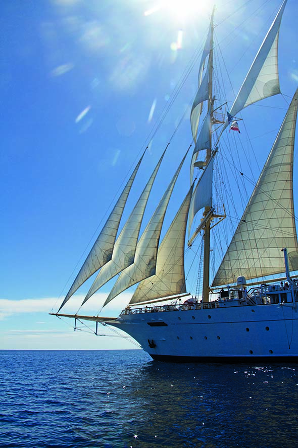 Star Clippers Star Flyer Cruise Ship Review