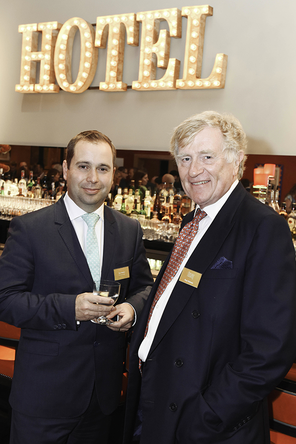 Tony Roberts, Vice-President UK & Europe of Princess Cruises, and Paul Dobson, MD of the Chelsea Magazine Company