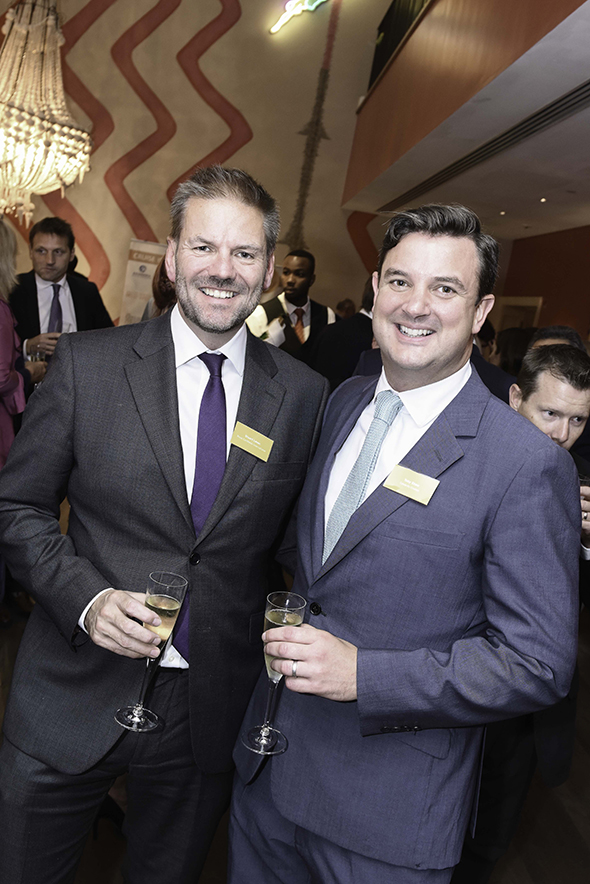 Stuart Leven, MD of Royal Caribbean, and Toby Shaw, Director of Marketing & PR, Celebrity Cruises