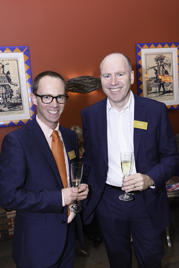 Dan Whitehouse of Titan Travel and Alan McClean of Avalon Waterways
