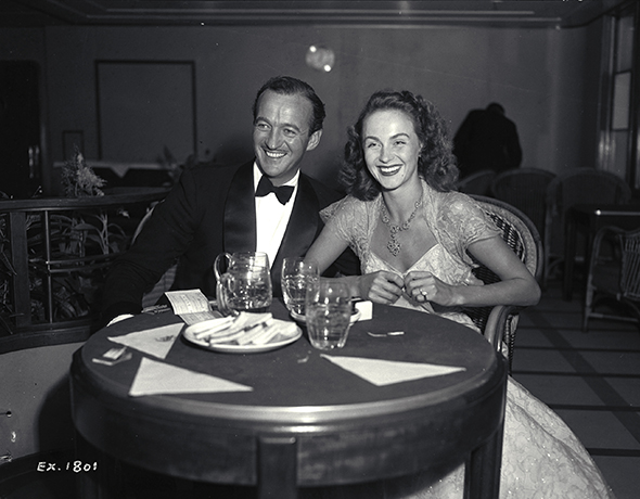 David Niven  seated 10530 copy