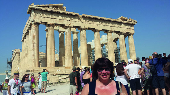 Sightseeing at the Acropolis, Athens