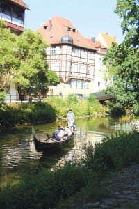 A pretty waterway in Bamberg