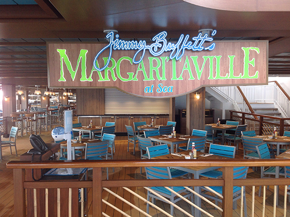 The first Margaritaville at sea