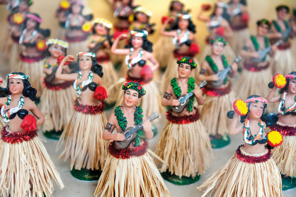 Hawaiian figurines. Credit Getty Images