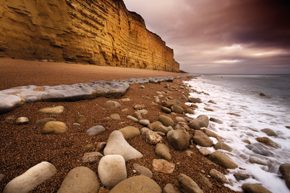 The Golden Gap on Dorset's Jurassic Coast, UK. Credit: iStock