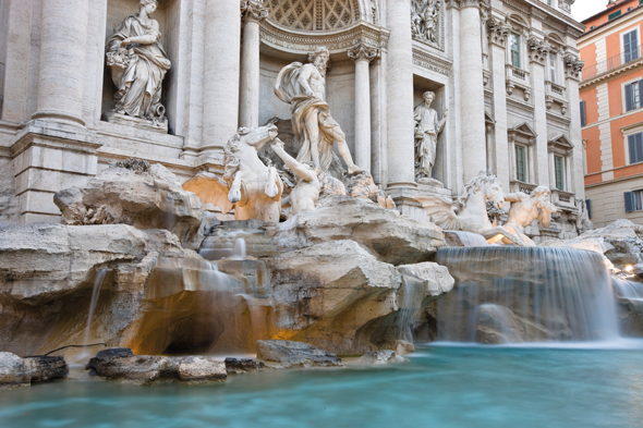 The Trevi Fountain. Credit: iStock