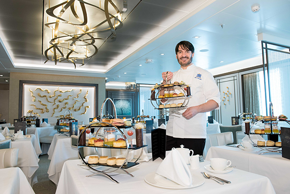 Afternoon Tea in The Epicurean by Eric Lanlard. Photo by Steve Dunlop