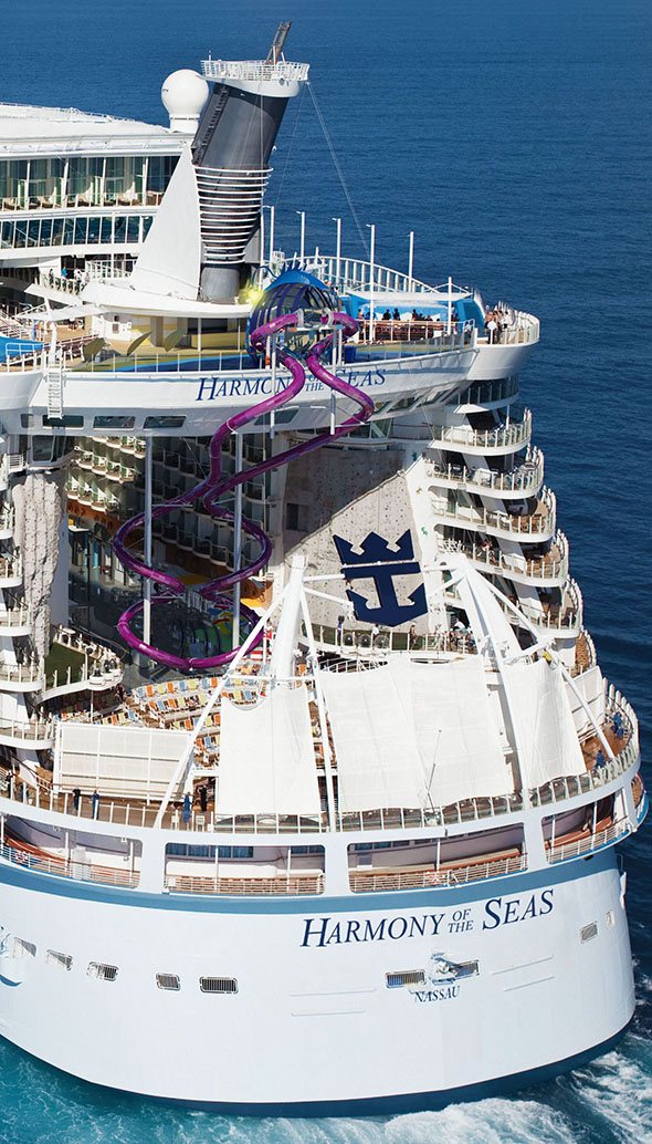 The Ultimate Abyss on board Royal Caribbean's Harmony of the Seas