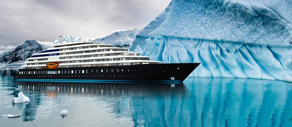 'The world's first discovery yacht' Scenic Eclipse
