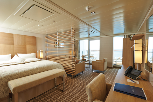 A Grand Ocean Suite on board Europa 2