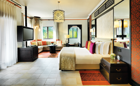 An Arabian Deluxe Room at the Madinat Jumeirah