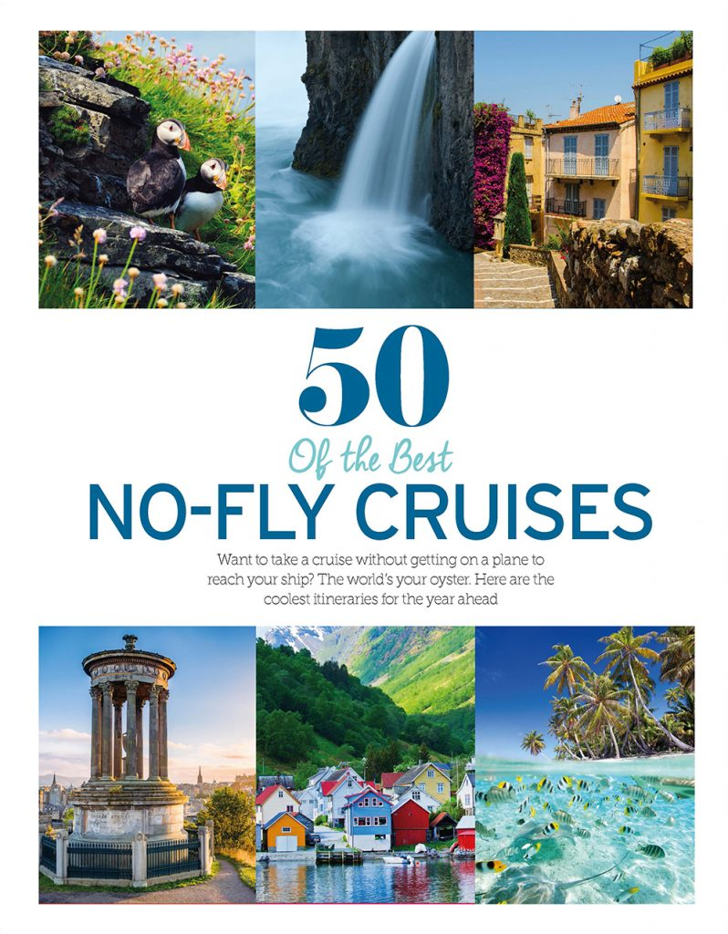 50 of the best no-fly cruises, Cruise International June/July 2016
