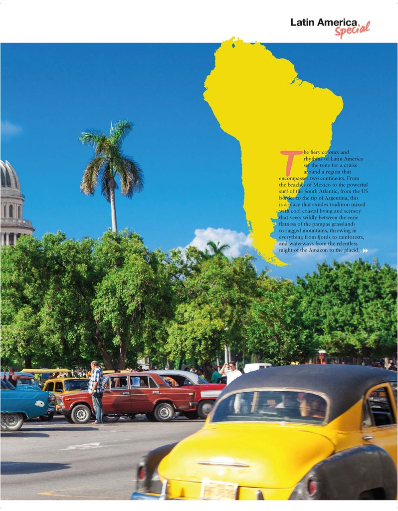 Latin America special, Cruise International June/July 2016