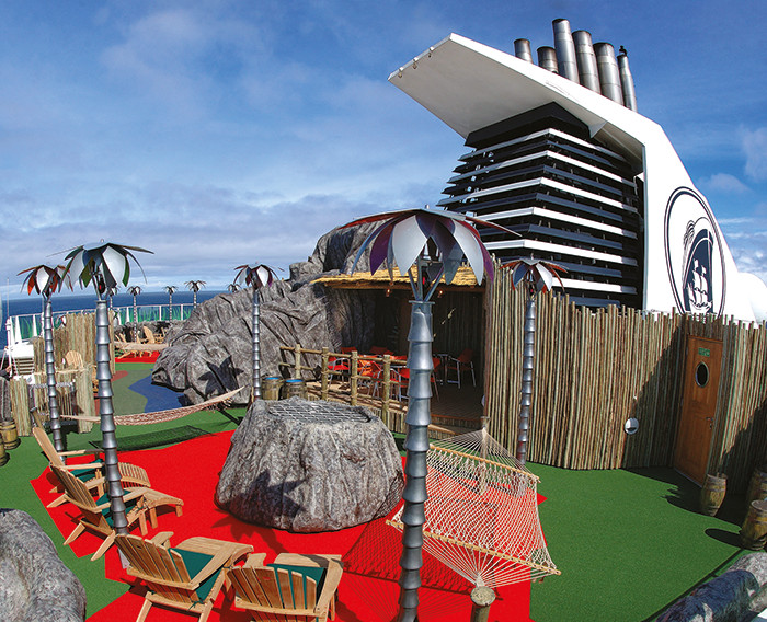 Holland America Line's children's Oasis