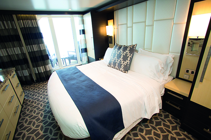 A stateroom in Royal Caribbean's Quantum of the Seas