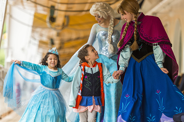 Frozen fun on board Disney Cruise Line, winner of Best for Families in the Cruise International Awards 2016 © Matt Stroshane